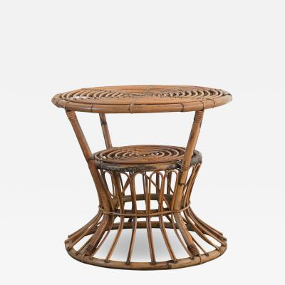 Bonacina ITALIAN RATTAN TABLE