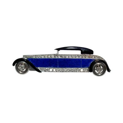 Boucheron Art Deco Luxury Automobile Brooch
