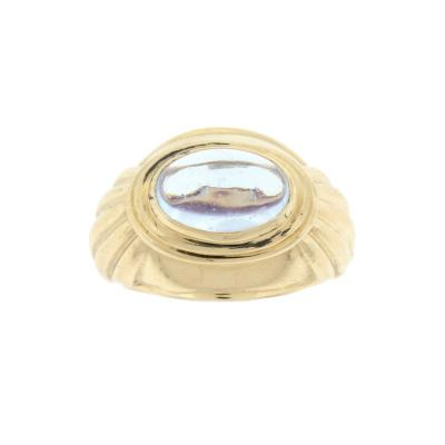Boucheron Boucheron Cabochon Aquamarine Gold Ring