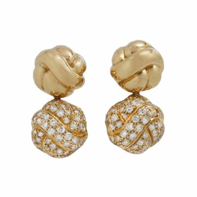 Boucheron Boucheron Paris Diamond Drop Earings