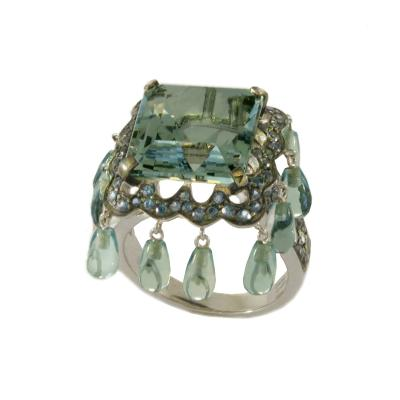 Boucheron Boucheron Paris Laperouse Aquamarine Ring