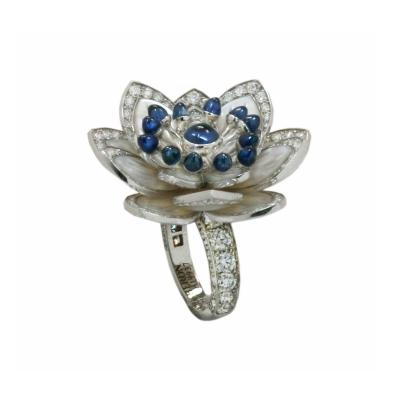 Boucheron Boucheron Paris Large Nymph a Flower Ring