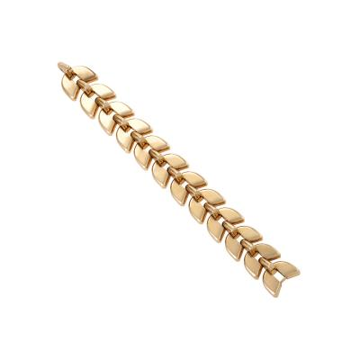 Boucheron Boucheron Retro Gold Link Epis Bracelet