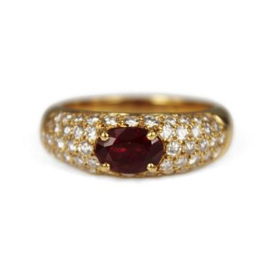 Boucheron Boucheron Ruby Diamond Ring