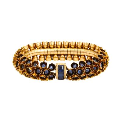 Boucheron Sapphire Bracelet by Boucheron
