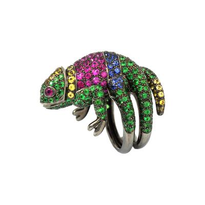 Boucheron Spectacular Boucheron Chameleon Ring