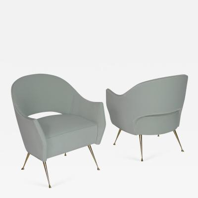 Bourgeois Boheme Atelier Pair of Briance Chairs By Bourgeois Boheme