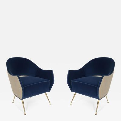 Bourgeois Boheme Atelier Pair of Briance Chairs by Bourgeois Boheme Atelier