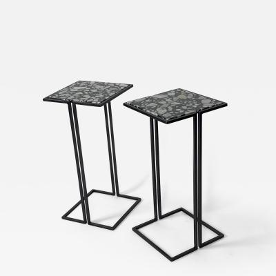 Bourgeois Boheme Atelier Pair of Nantes Side Tables Model A