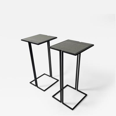 Bourgeois Boheme Atelier Pair of Nantes Side Tables Model B