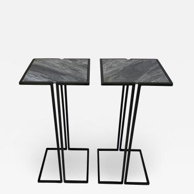 Bourgeois Boheme Atelier Pair of Nantes Side Tables Model C