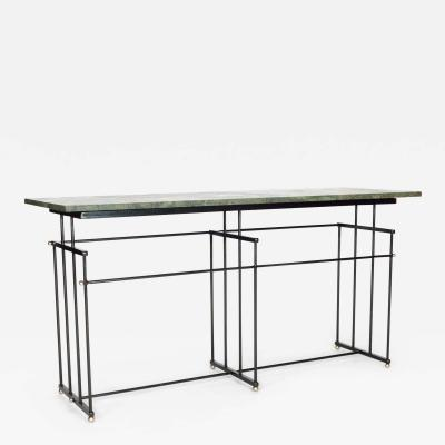 Bourgeois Boheme Atelier Plaisance Table Green Marble