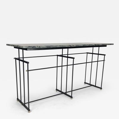 Bourgeois Boheme Atelier Plaissance Table Crystalized Marble Top