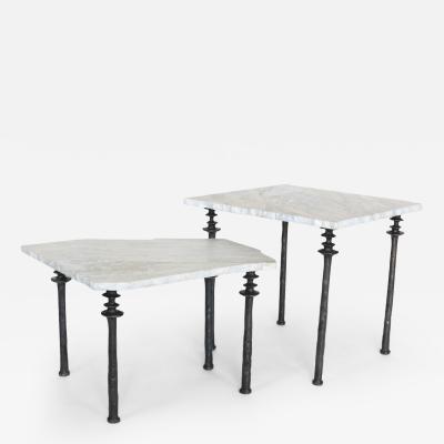 Bourgeois Boheme Atelier Silicon Bronze Nesting Sorgue Tables by Bourgeois Boheme Atelier