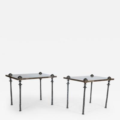 Bourgeois Boheme Atelier Silicon Bronze Sorgue Side Table by Bourgeois Boheme Atelier