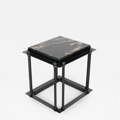 Bourgeois Boheme Atelier Simplon Side Table by Bourgeois Boheme Atelier