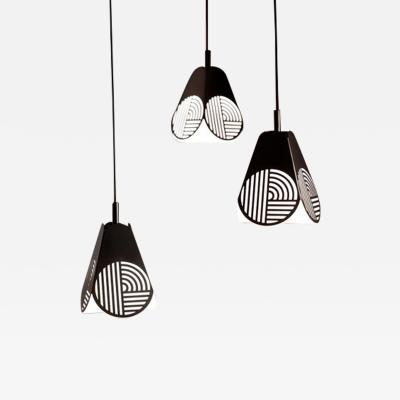 Bower Studio Ensemble of Notic Pendant Lamps by Bower Studio