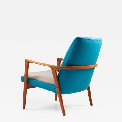 Br derna Anderssons Midcentury Scandinavian Lounge Chair by Br derna Andersson