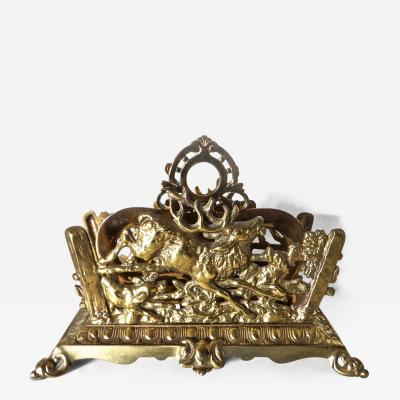 Bradley Hubbard Letter Holder by Bradley and Hubbard Co Circa 1890