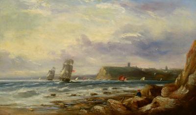 British 19th century A Lee Shore