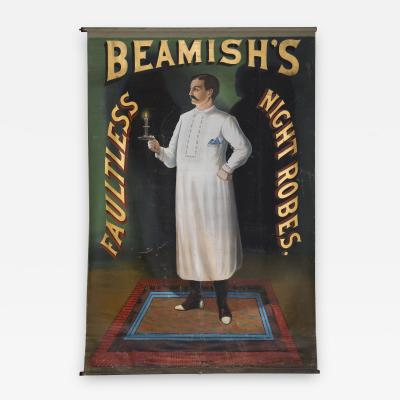 Brooke Sign Co Beamishs Faultless Night Robes Trade Sign