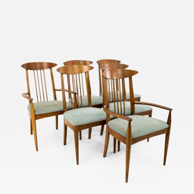 Broyhill Brasilia Broyhill Sculptra Mid Century Dining Chairs Set of 6