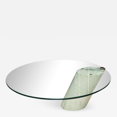 Brueton Marble and Glass Low Table