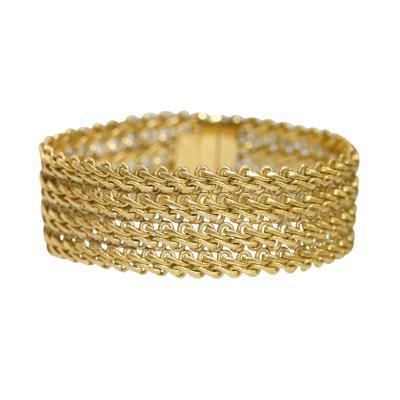 Buccellati 18 Karat Gold Bracelet by Buccellati Italy circa 1970