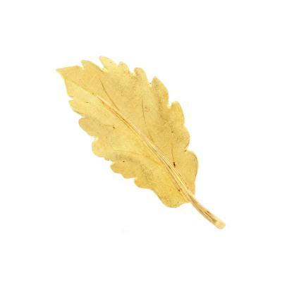 Buccellati Buccellati Gold Leaf Brooch