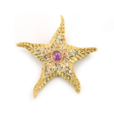 Buccellati Buccellati Star Fish Brooch