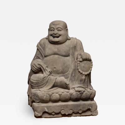 Buddha Buddhism Chinese Ming Stone Buddha