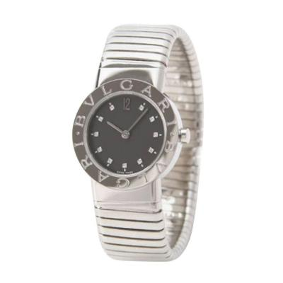 Bulgari Bulgari Stainless Steel Tubogas Wristwatch circa 1980