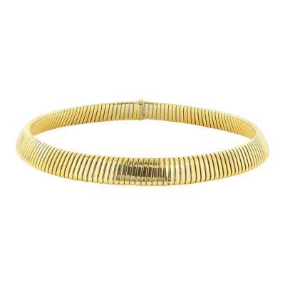 Bulgari Yellow Gold Necklace Signed Bulgari