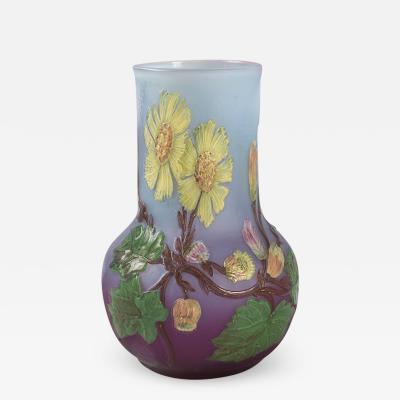 Burgun Schverer Burgun and Schverer Cameo Vase