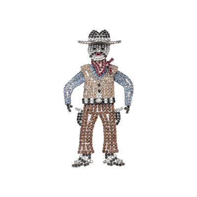 Butler Wilson Butler Wilson Western Cowboy Brooch