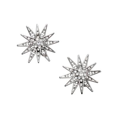 Butler Wilson Buttler Wilson Rhinestone Navigation Star Earrings