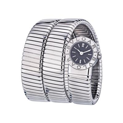 Bvlgari Bulgari BVLGARI TUBOGAS STAINLESS STEEL BB19 WATCH