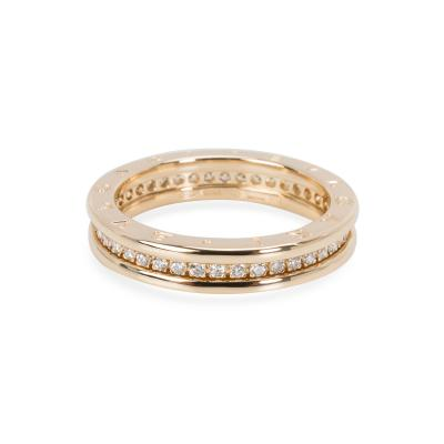 Bvlgari Bulgari Bulgari B Zero 1 Diamond Ring in 18KT Yellow Gold 0 6 CTW