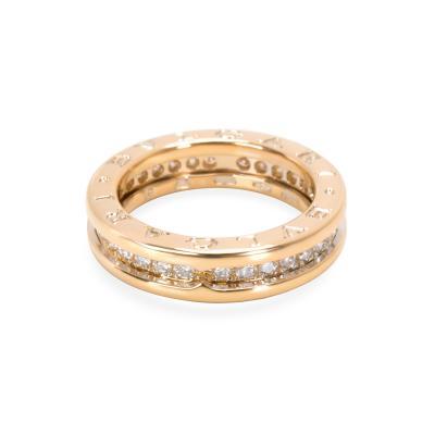 Bvlgari Bulgari Bulgari B zero1 Diamond Ring in 18K Yellow Gold 0 64 CTW