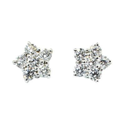 Bvlgari Bulgari Bulgari Diamond Cluster Earrings