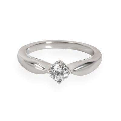 Bvlgari Bulgari Bulgari Diamond Solitaire Ring in Platinum E VVS2 0 32 CTW