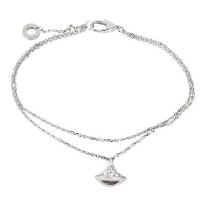 Bvlgari Bulgari Bulgari Divas Dream Diamond Bracelet in 18K White Gold 0 26 CTW