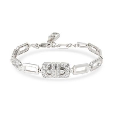 Bvlgari Bulgari Bulgari Parentesi Diamond Bracelet in 18K White Gold 1 50 CTW