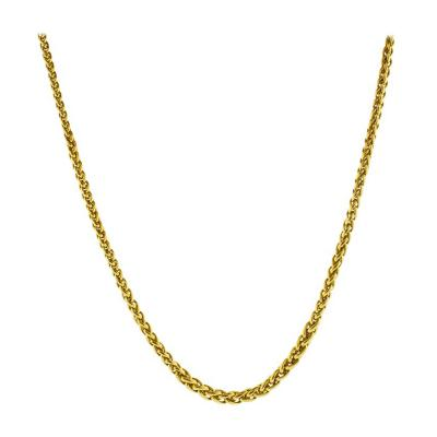Bvlgari Bulgari Bulgari Wheat Link Necklace