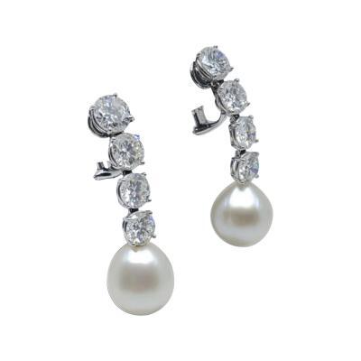 Bvlgari Bulgari Bulgari diamond pearl Earrings