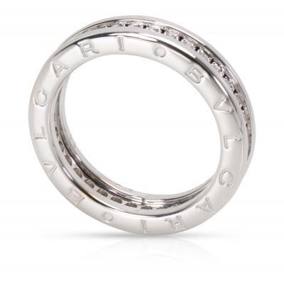 Bvlgari Bulgari Bvlgari B Zero Diamond Ring in 18K White Gold
