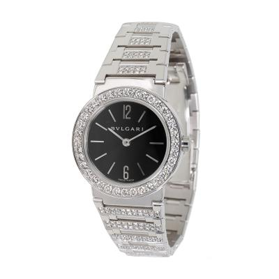 Bvlgari Bulgari Bvlgari BBW26BGDGD Womens Diamond Watch in 18kt White Gold 2 12 CTW