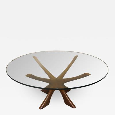 CFC Silkeborg Illum Wikkelso T118 Teak Coffee Table