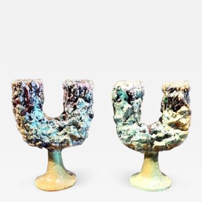 Caltagirone CCA Caltagirone CCA Candelabrum 2 Porcelain