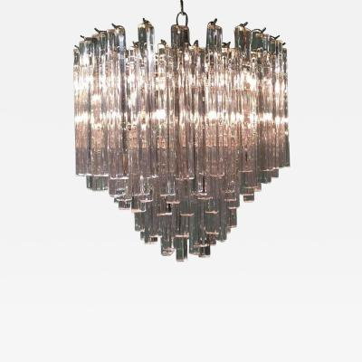 Camer Glass Italian Hand Cut Crystal Chandelier by Camer Glass